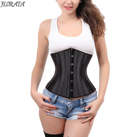 Spiral Steel Boned Corset And Bustiers Underbust