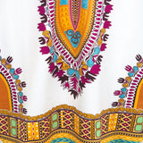 African Clothes Dashiki  Print Dashiki Dress
