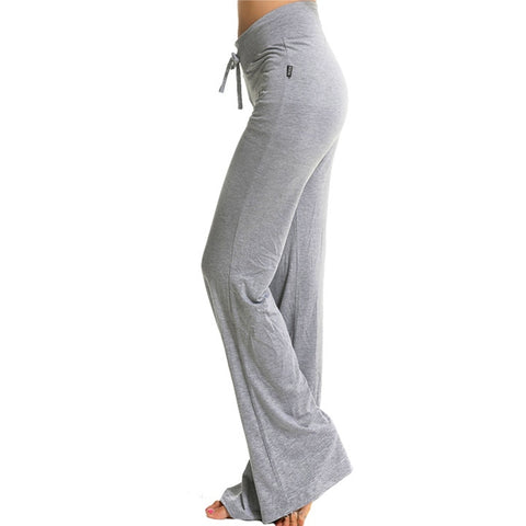 Wide Leg High Waisted Yoga Pants S-4X