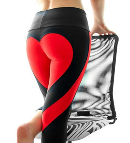 Heart shaped Back side Leggings S-XXL