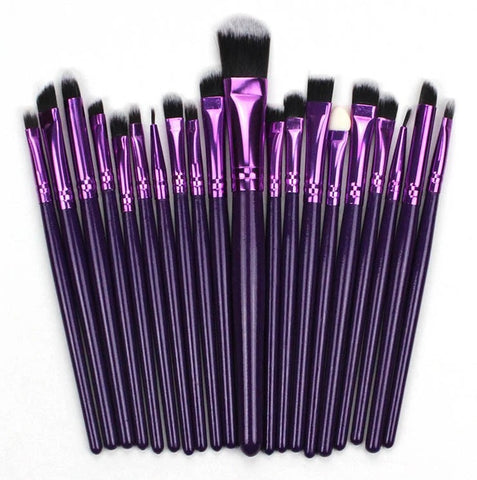 Updated 20pcs Makeup Brushes Set