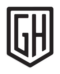 """GH"" Sticker 3-Pack"