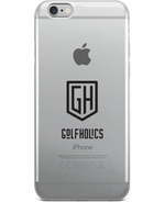 Golfholics iPhone Case in Black