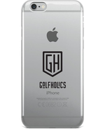 Golfholics iPhone Case in White