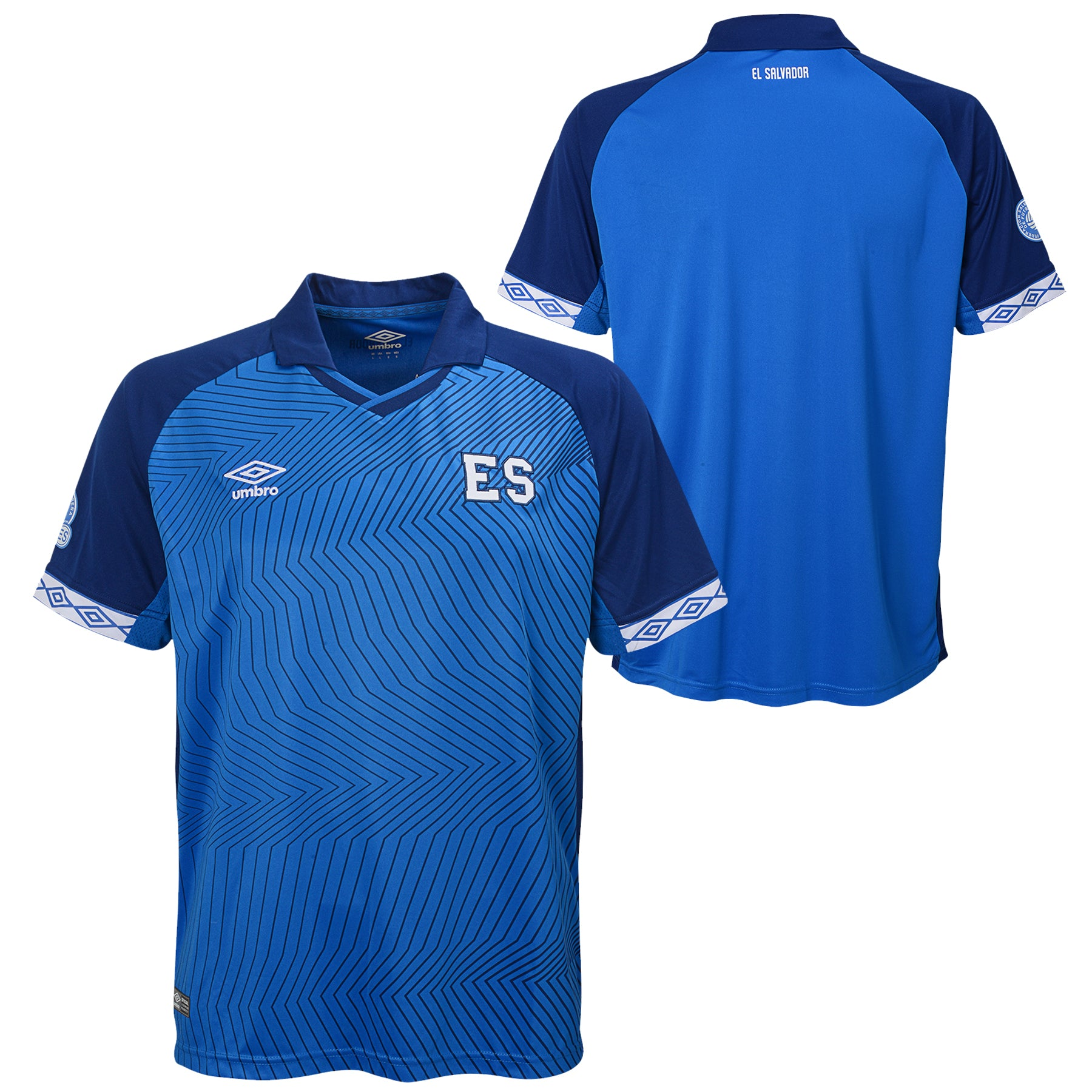 2019 El Salvador Men's Home Replica Jersey