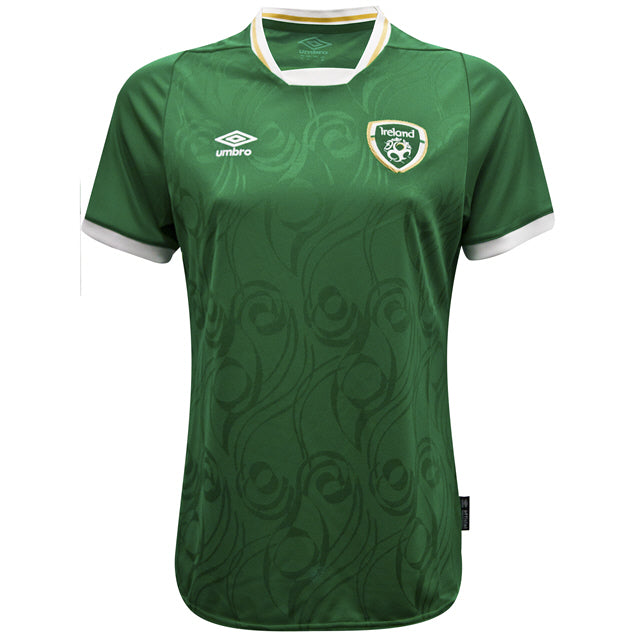 2020 IRELAND WOMENS HOME S/S JERSEY