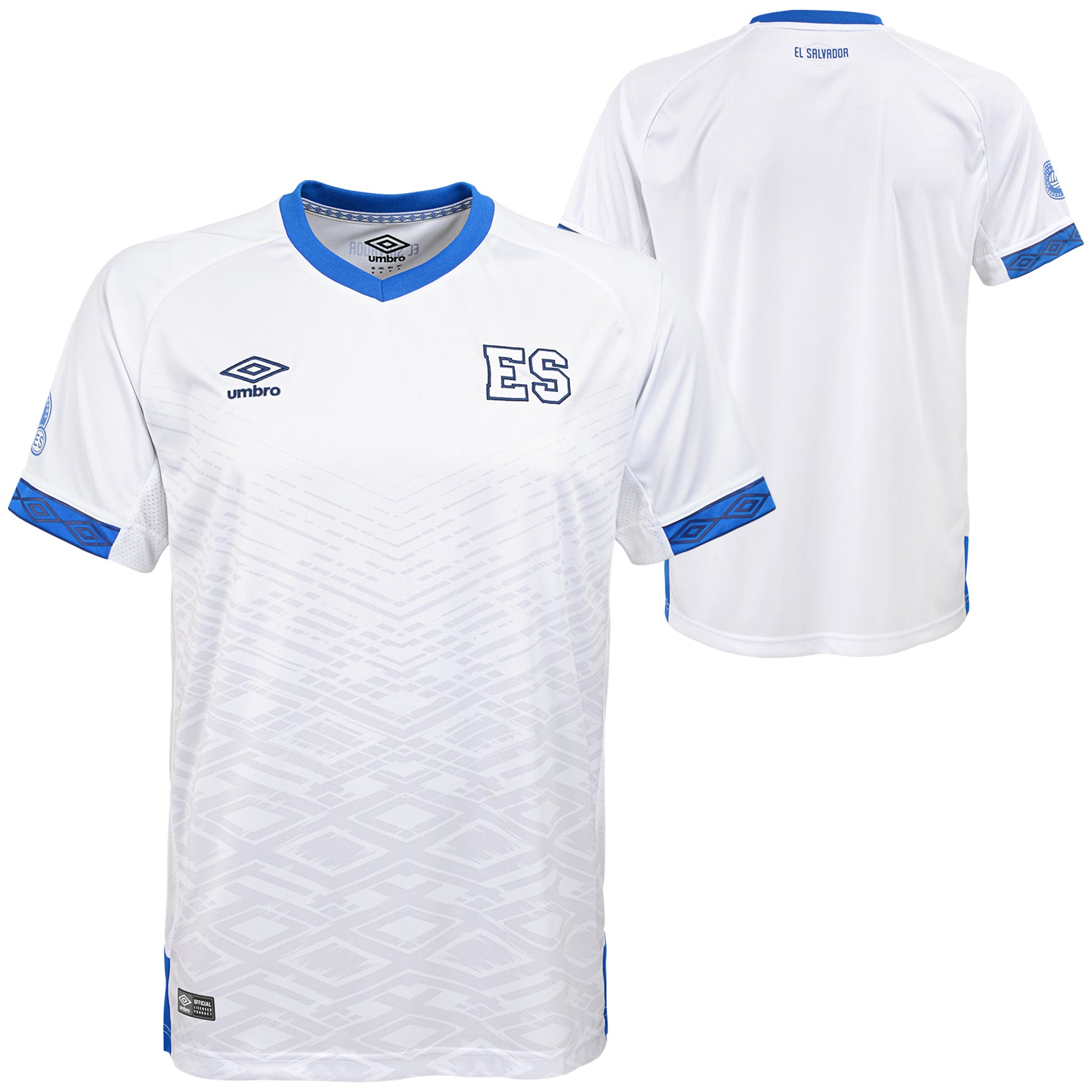 2019 El Salvador Men's Away Replica Jersey