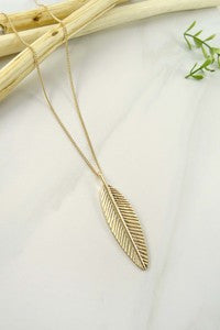 The Maddie Leaf Necklace
