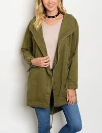 Hooded Army Jacket