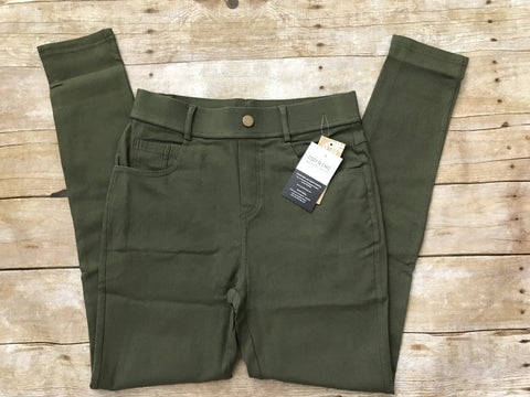 Cozy Jeggings, Olive