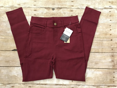 Cozy Jeggings, Burgundy