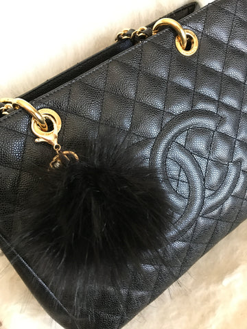 Fluffy Purse Pom, Medium