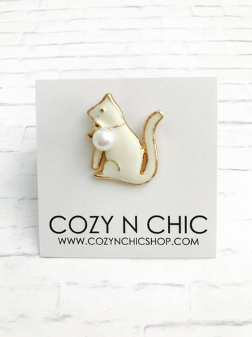Mini Pin, Kitty Cat