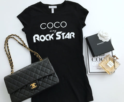 COCO is my Rockstar!  Stretchy Slim Fit