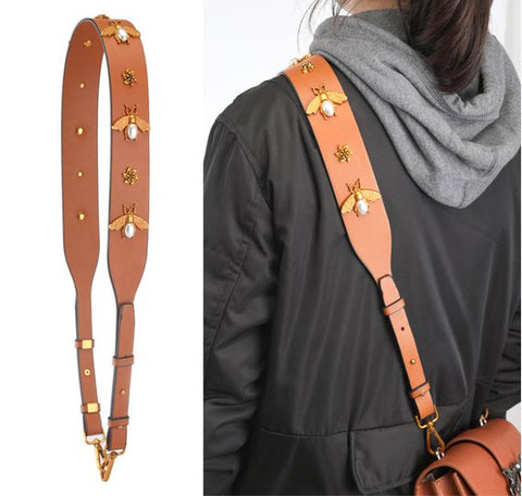 Luxe Bee Purse Strap