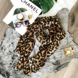 Soft and Cozy Leopard Scarf