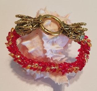 The Red Dragon Bracelet