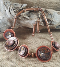 Copper Moon Necklace
