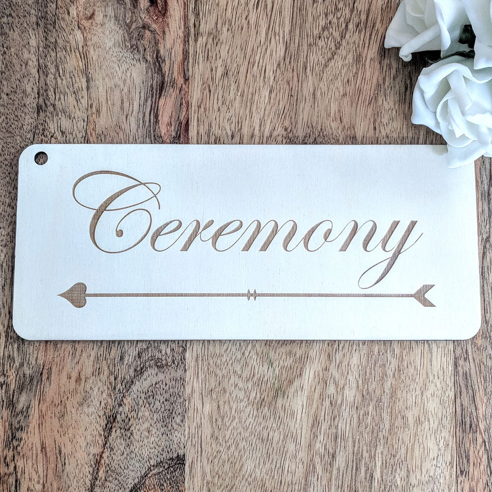 Wedding Sign - Plaque 1