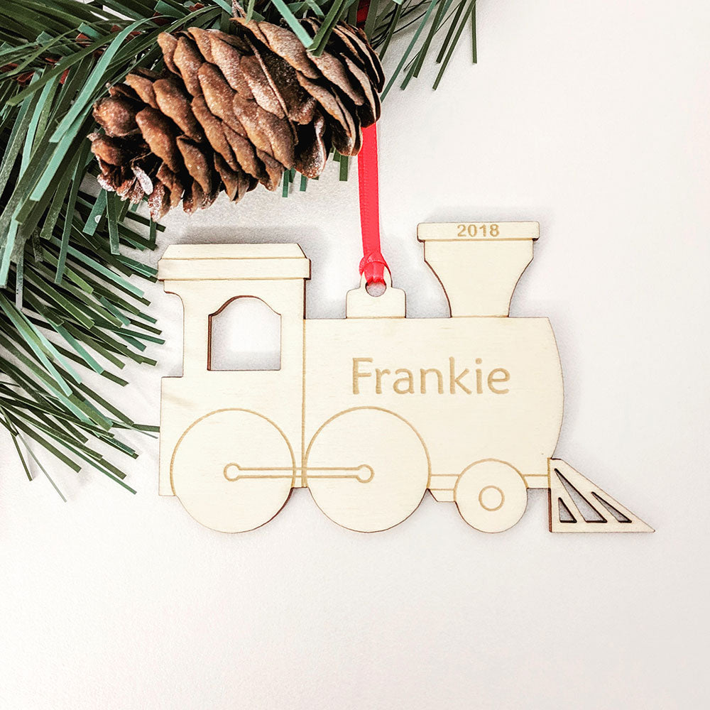 Steam Train Christmas Tree Decoration