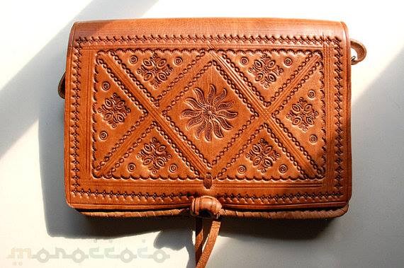 Moroccan Leather handcrafting  - Marrakech art