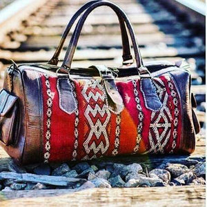 The Kilim bag, a one of a kind Travel accessory!