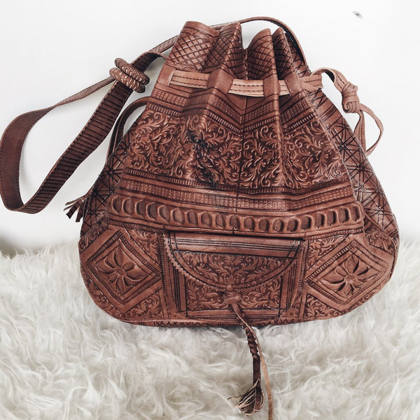 Moroocan Leather Bag
