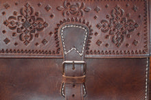 Vintage messenger bag - GFM -giftsfrommorocco-morocco leather