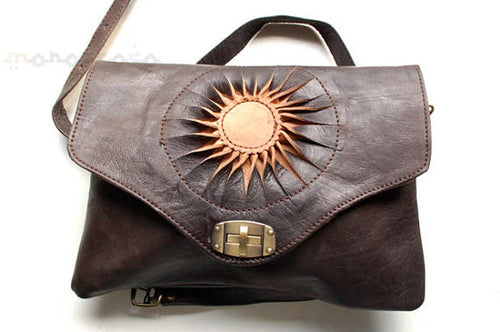 Handbag. Leather. Skin - GFM -giftsfrommorocco-morocco leather