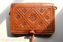 Unique Leather Bag - GFM -giftsfrommorocco-morocco leather