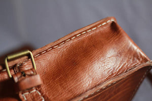 Real Leather Hand Stitched - GFM -giftsfrommorocco-morocco leather
