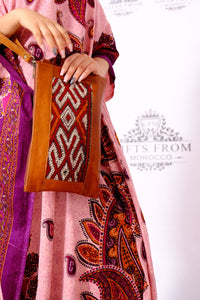 GFM | Kilim Pocket - GFM -giftsfrommorocco-morocco leather