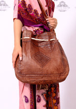 GFM |  Genuine Leather Bag - GFM -giftsfrommorocco-morocco leather