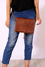 GFM | Sahara shoulder bag - GFM -giftsfrommorocco-morocco leather