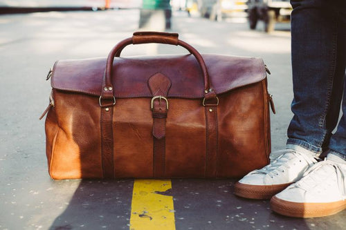 Classic travel - GFM -giftsfrommorocco-morocco leather