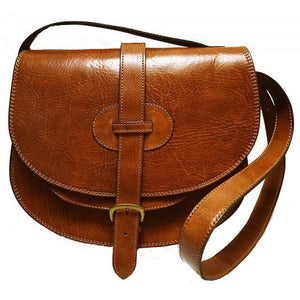 Leather Bag Moroccan Handmade Purse Handbag Shoulder Genuine Women Brown Design