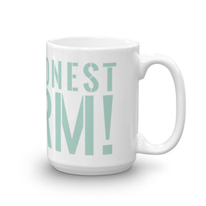 Classic Honest Worm! Logo Mug made in the USA