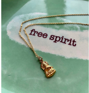 Pendant - Set Your Spirit Free with Buddha