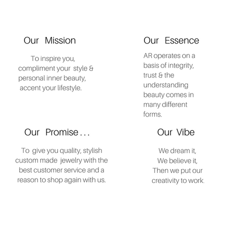 mission statement for ar today charm jewelry