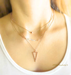 minimalist necklaces by ARToday Charm Jewelry