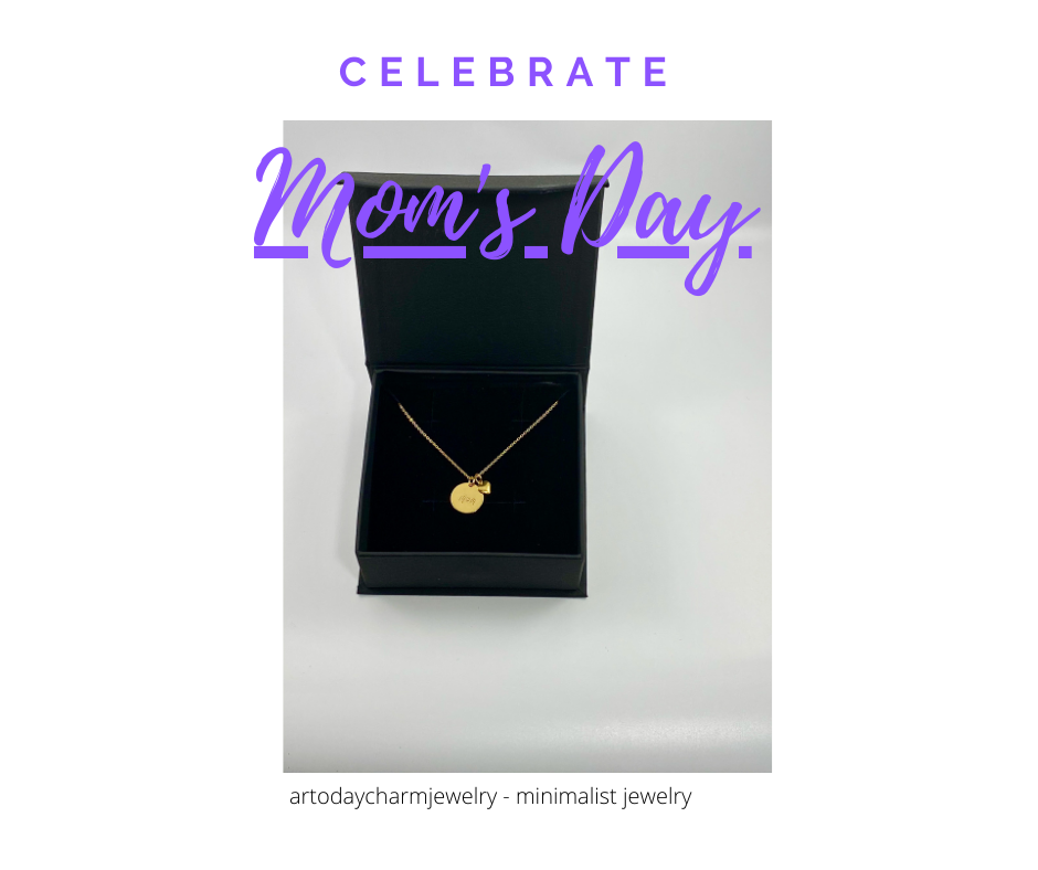 ar today charm jewelry Mother's Day Necklace Gift