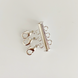Silver Necklace Spacer Tube for Layering 3 Necklaces 1
