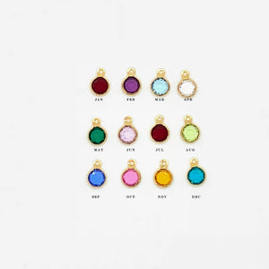 April Birthstone Necklace - AR TodayCharm Jewelry Company