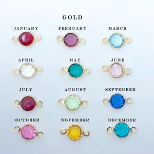 Gold Birthstone Necklace - AR TodayCharm Jewelry Company