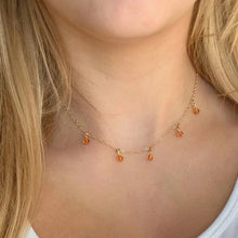 Load image into Gallery viewer, Topaz Cristal Choker Necklace - AR TodayCharm Jewelry Company