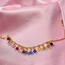 Load image into Gallery viewer, Rainbow Cristal Choker Necklace - AR TodayCharm Jewelry Company