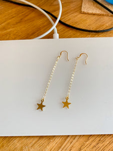 Gold Star Earrings - AR TodayCharm Jewelry Company