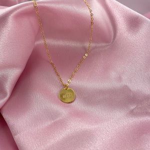 Hand Stamped HOPE Disk Necklace - AR TodayCharm Jewelry Company