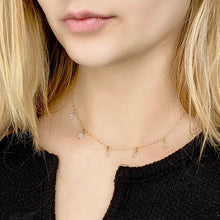 Load image into Gallery viewer, Diamond Cristal Choker Necklace - AR TodayCharm Jewelry Company