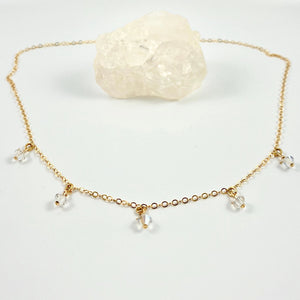 Diamond Cristal Choker Necklace - AR TodayCharm Jewelry Company